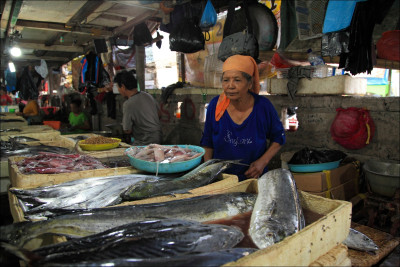 Bali- Jimabaran fish market